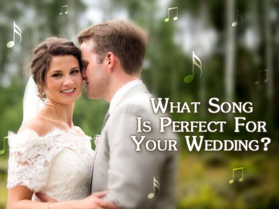 """Find the special song that tells your love     [{mine was """"Amazed"""" by Lonestar}]."""
