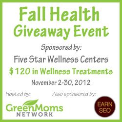With cold and flu season approaching fast, it's important to make sure your health is at its best. What better way to do that than to treat yourself to wellness services from Five Star Wellness & Holistic Center?