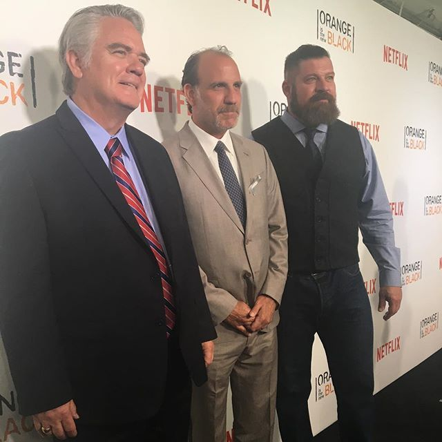 Orange is the New Black - Michael Harney, Nick Sandow, and Brad William Henke