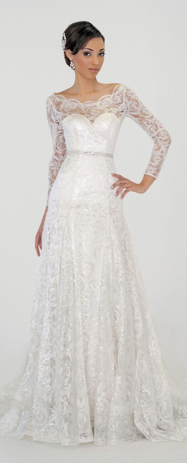Eugenia Couture Spring 2016 Wedding Dress - Luna