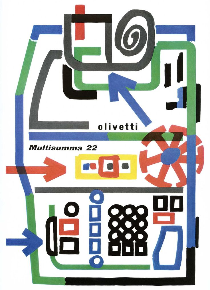 Giovanni Pintori Lettera 22 Advertisement