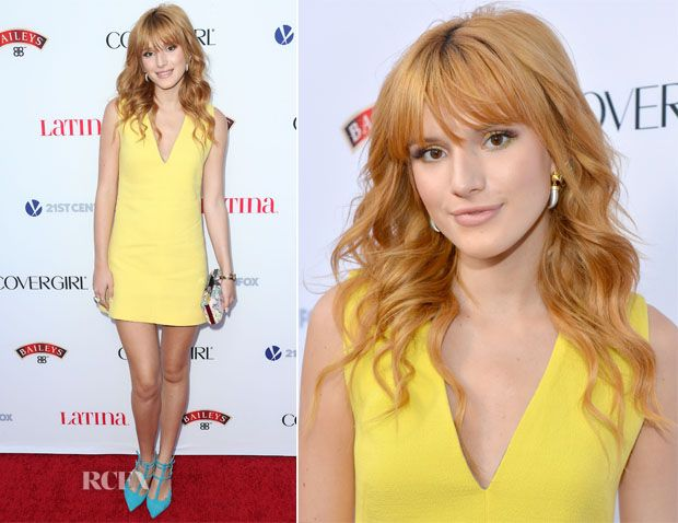 Bella Thorne In Fausto Puglisi – Latina Magazine's 'Hollywood Hot List' Party
