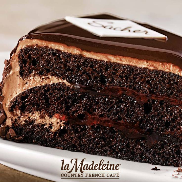 Sacher Torte La Madeleine Recipe