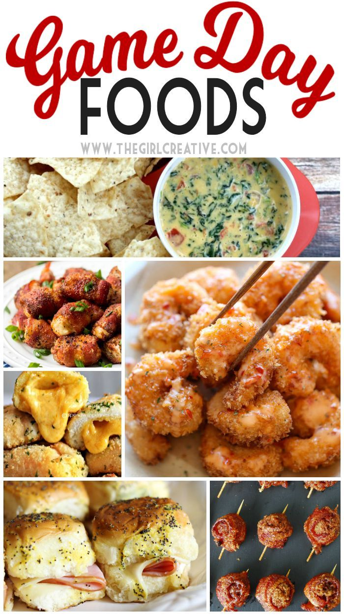 Game Day Foods - you don't need a major sporting even to serve up these delicious game day foods. Lots of yummy appetizers and finger foods.