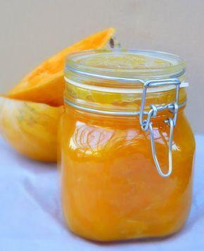 Strawberry blogja.: Narancsos sütőtöklekvár