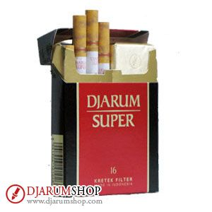 The Djarum icon. Djarum Super is a blend of Superfine Clove™ and tobacco, with a fruity aromatic flavor. Evoking a sense of pride.