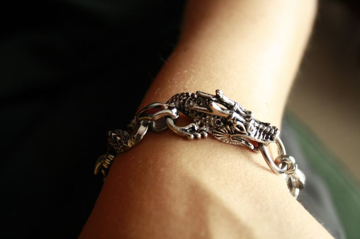 Weaved Dragon Bracelet  - A statement piece..for sure!    This one comes in a tarnished brass and tarnished silver.  At only $14.00  Go to ceesquared.ca  Come for a visit.