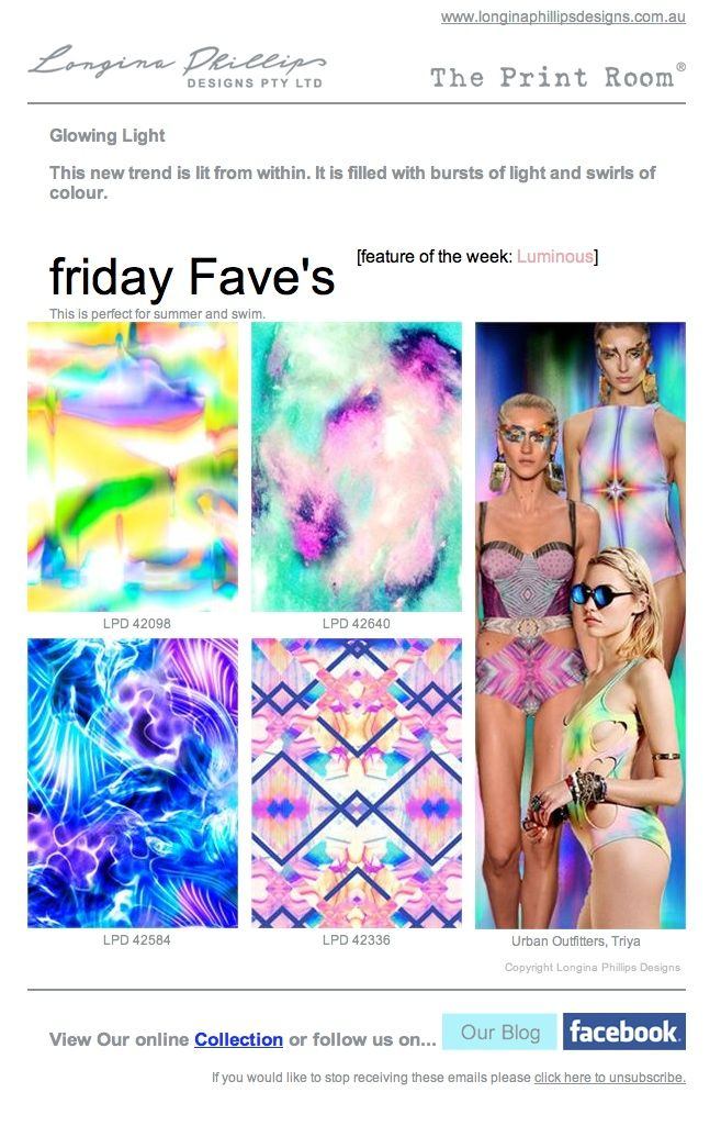 """Longina Phillips Designs  """"friday Fave's"""""""
