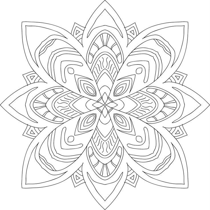 169 Best Printable Mandalas To Color