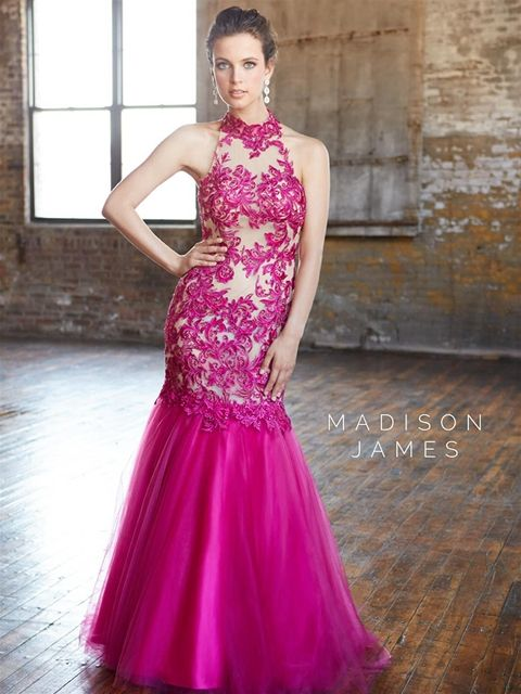 Madison James Style 15-119 Color: Fuchsia