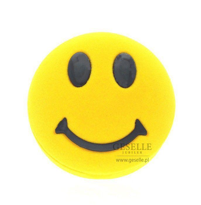 Radosne pudełko - żółty uśmiech, który ozdobi Twój prezent   NA PREZENT \ Opakowania na biżuterię od GESELLE Jubiler