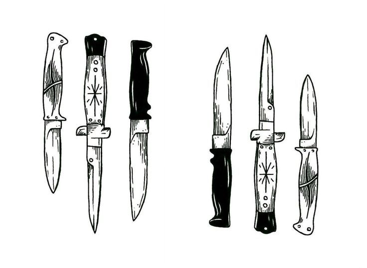 Image result for switchblade drawing