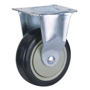 Ruedas de PU para muebles   Materiales: núcleo de PP con ruedas de PU  Tamaño: Ø77 x 32mm ; Ø100 x 32mm ; Ø125 x 32mm   Capacidad de carga: 100kg-200kg  Rodamiento: Rodamiento de bolas