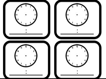 Time Worksheets : telling time worksheets blank clocks Telling ...