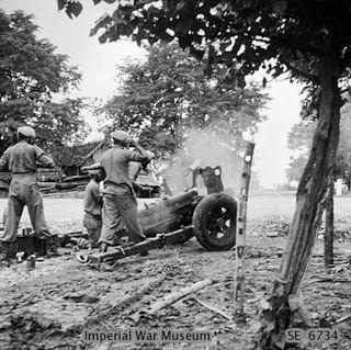 Battle of surabaya, november 10th, 1945... the battle is between british+dutch VS indonesia freedom fighter