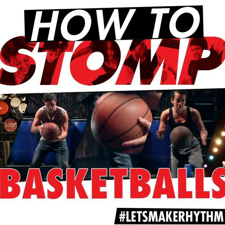 Grab the kids and show them how to Stomp using basketballs. It's that easy. #LetsMakeRhythm