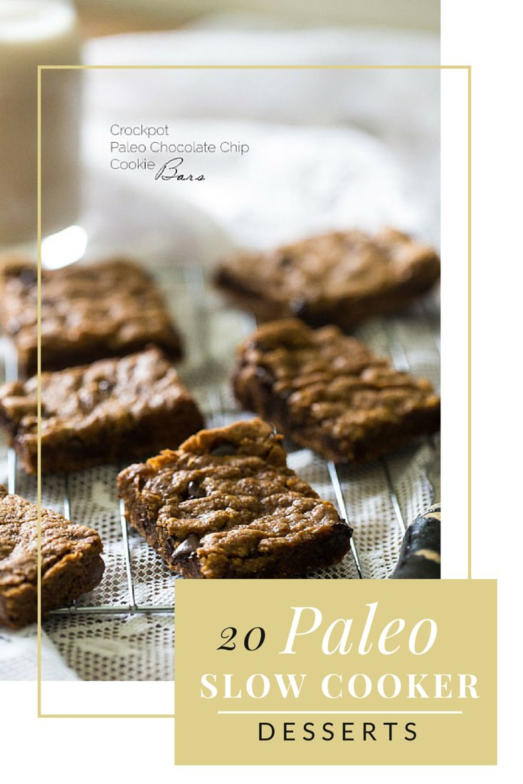 20 paleo slow cooker desserts which will be really useful since I don't have a kitchen anymore...