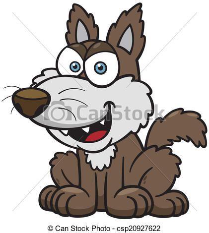 Vector - wolf - stock illustratie, royalty-vrije illustraties, stock clip art symbool, stock clipart pictogrammen, logo, line art, EPS beeld, beelden, grafiek, grafieken, tekening, tekeningen, vector afbeelding, artwork, EPS vector kunst
