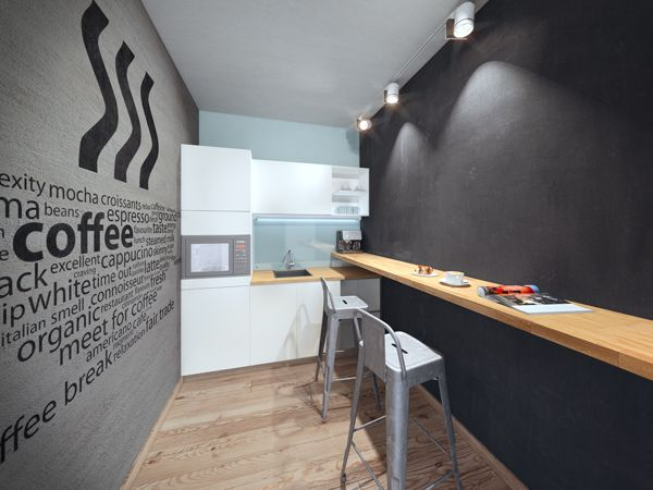 10 best images about chiropractic office design on for Small office kitchen