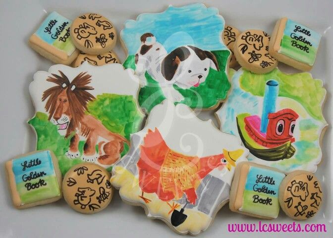 Little Golden Books Cookies