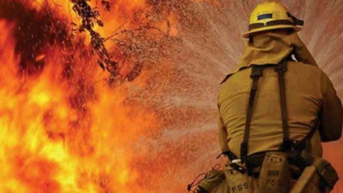 BREAKING NEWS: Kebakaran Rumah Terjadi di Jalan Darmo Baru Barat Surabaya