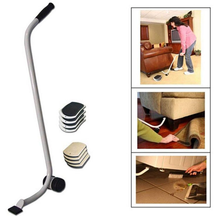 Move Heavy/Bulky Furniture With Ease! Magic Furniture Mover makes the strenuous and sometimes dangerous task of moving furniture much easier. Lift, place and sl