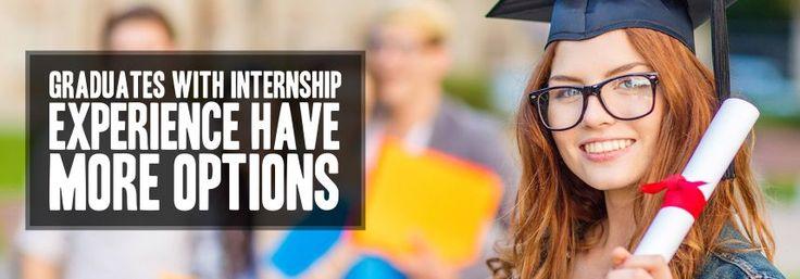 Graduates with Internship experience have more options. #InternationalWomensDay #Graduates #Blog #Internships #Experience #Goal #Skill #Students #InternationalStudents #InternshipProgram #EduConnect