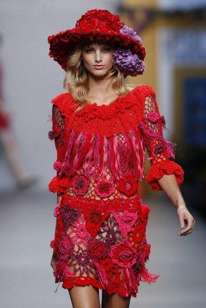 Crochet: Dress: