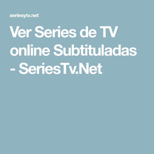 Ver Series de TV online Subtituladas - SeriesTv.Net
