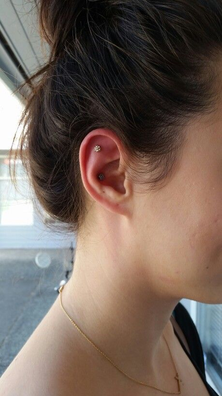 Conch and flat helix