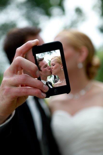 Selfie mariage