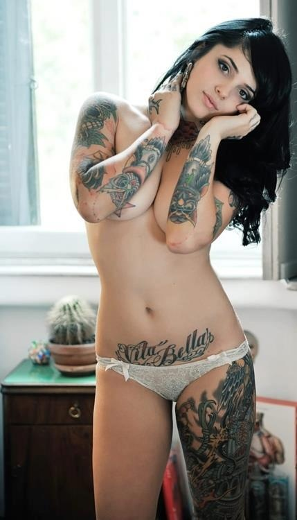 Intolerable. Suicide girls tattoos body