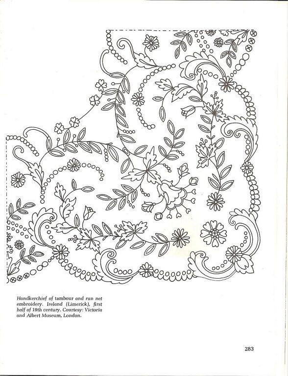 bordados en tul … | Embroidery patterns | Pinte…