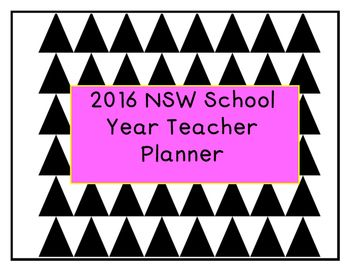 I have made these planners for use in my own classroom this year and in previous years and love that I can adapt the planner specifically to my classroom needs. If you would like a planner specifically for your classroom please contact me via email with any requests.missbarnbrooksprimaryresources@gmail.com This planner includes:NSW School Terms CalendarTerm planning overviewsTerm timetablesDouble page weekly planning section (set to the NSW 4 term year)Assessment notes and monitoring…