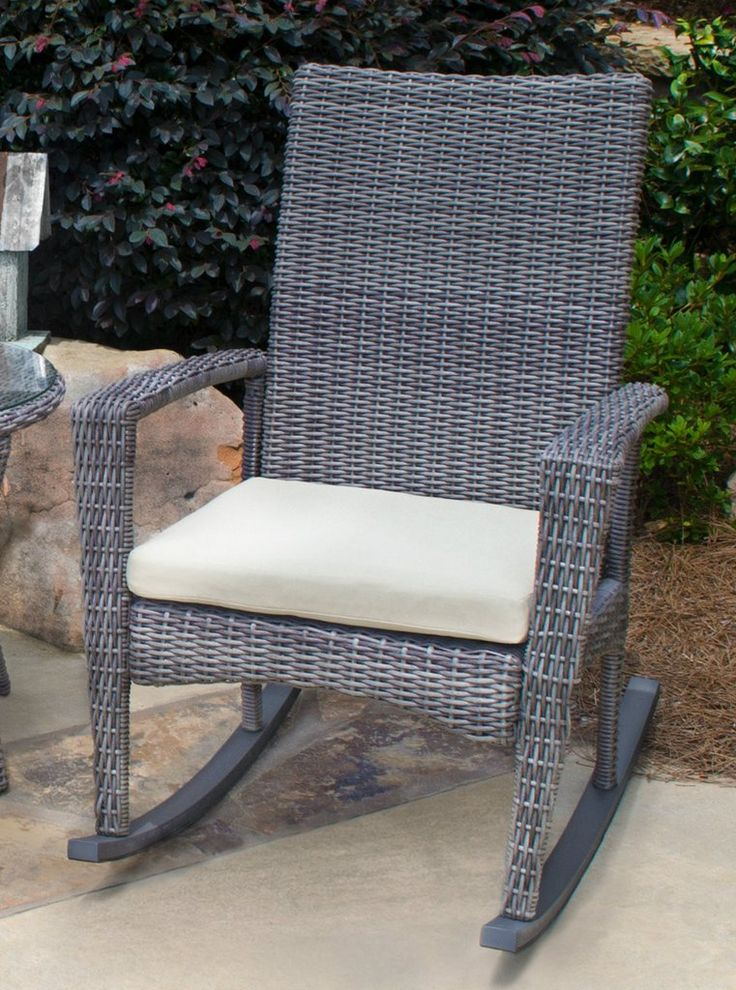 The Bayview Rocker set is a showpiece to any outdoor space! This beautiful rocking chair provides comfort and style that is unmatched. You can choose from 3