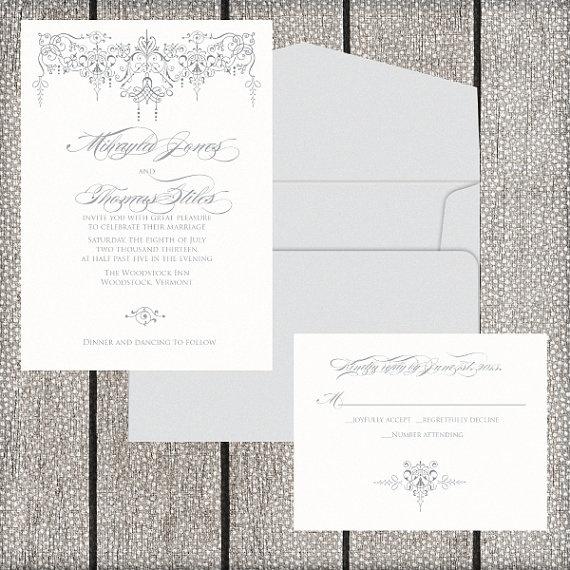 75 best wedding invites images on pinterest wedding stationery elegant wedding invitation hollywood vintage glam by lassodmoon lassodmoonsy stopboris Images