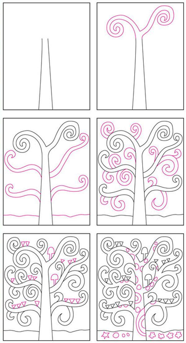 17 migliori idee su disegni di alberi su pinterest - Arte celtica colorare le pagine da colorare ...