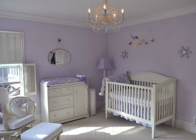 Love the simple elegance of this lavender nursery! #nurseryPurple Nurseries, Baby'S Room, Baby Girls, Baby Room, Lavender Nurseries, Girls Nurseries, Nurseries Ideas, Baby Stuff, Baby Nurseries