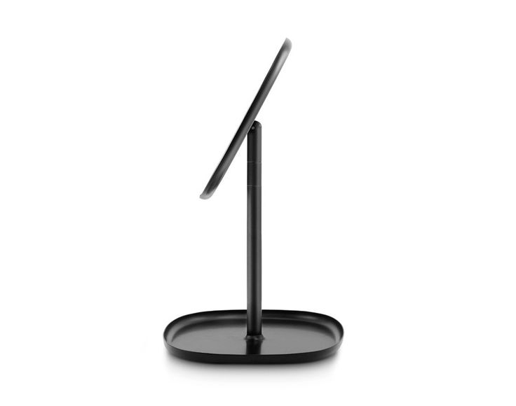 Zrcadlo Flip od Normann Copenhagen, černé   DesignVille