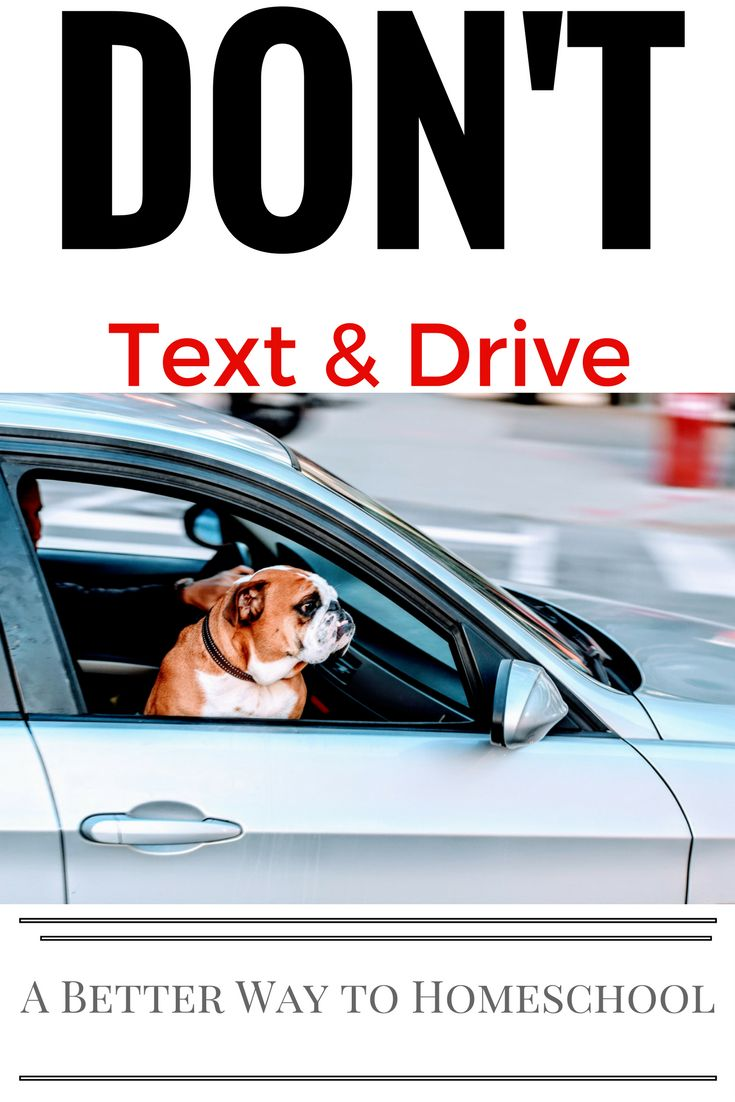 Texting & Driving. {DON'T} Here's a sneaky way to teach teens the dangers...