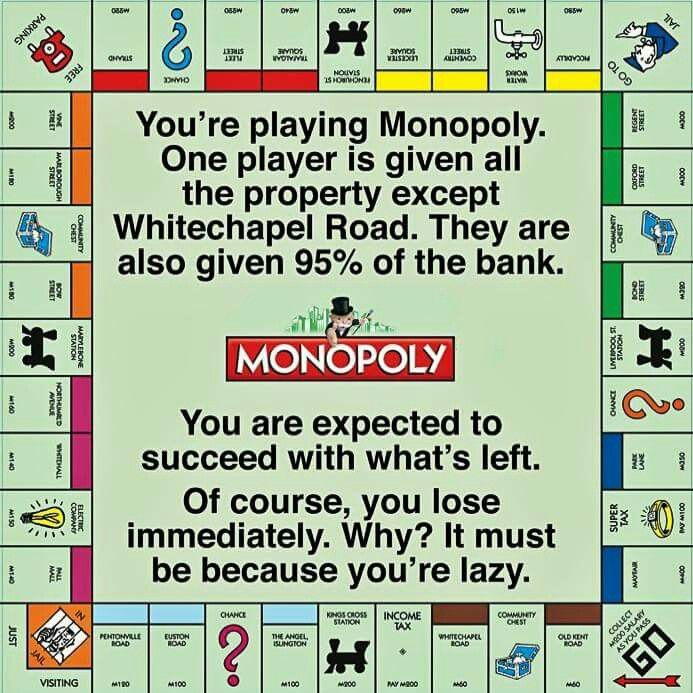 Monopoly Was Originally Created To Demonstrate How Unfair And