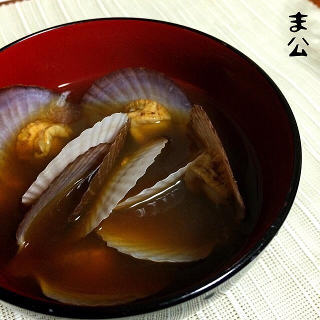 赤味噌で❤︎ - 61件のもぐもぐ - 稚貝の味噌汁 by makooo