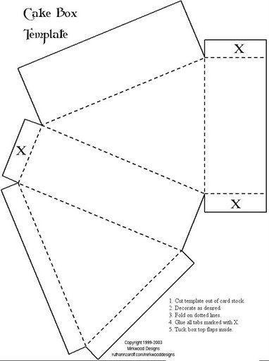 Шаблоны коробочек и конвертиков