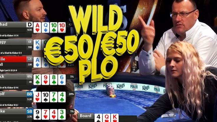 TOP Pots High Stakes PL Omaha €50/€50/€100 Cash Game in