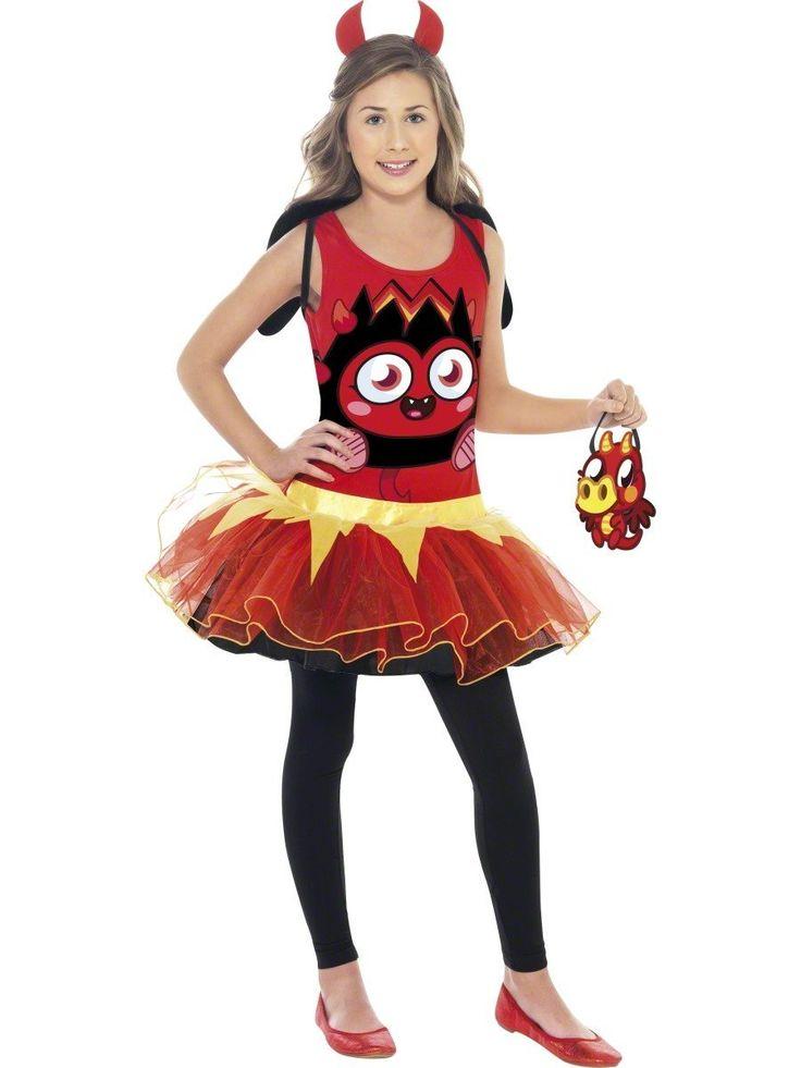 costume da moshi monster per la festa di halloween http://www.lefestediemma.com/shop/it/halloween/596-costume-moshi-monster-diavolessa.html