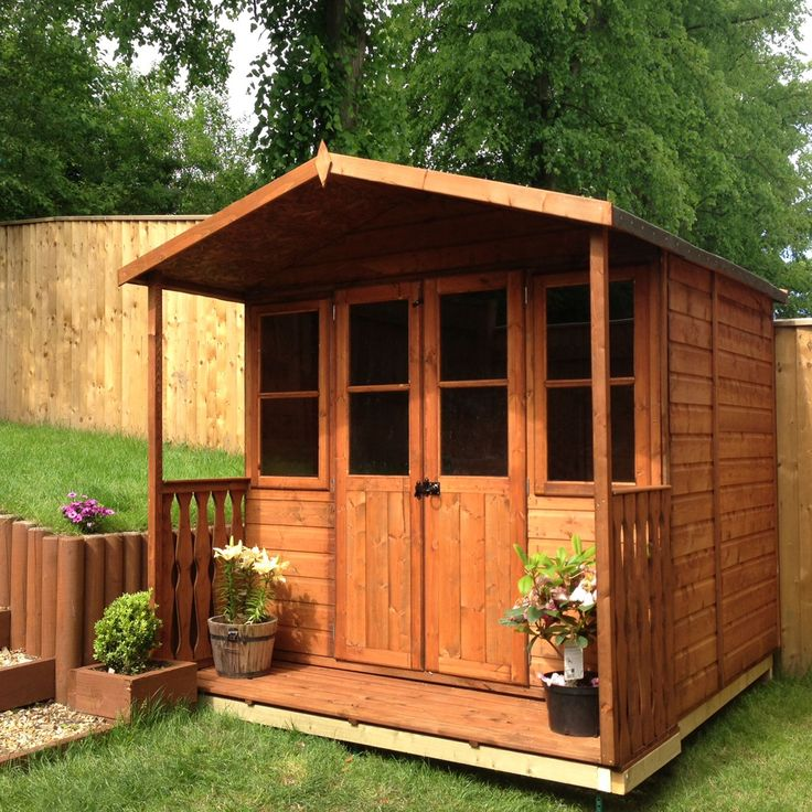 7X5 Houghton Shiplap Timber Summerhouse | Departments | DIY at B&Q