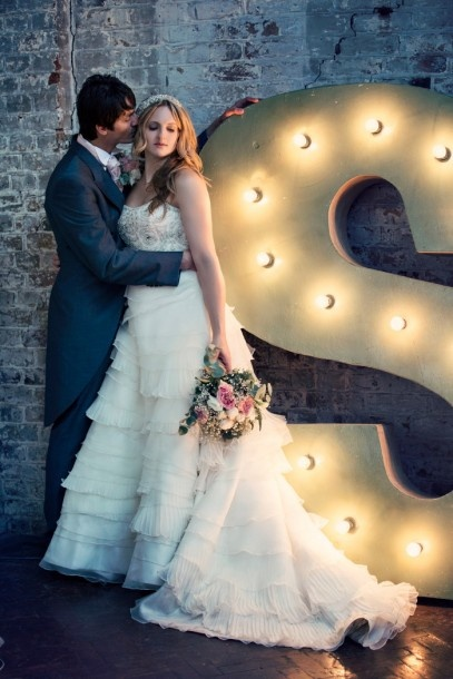 A stylish warehouse wedding