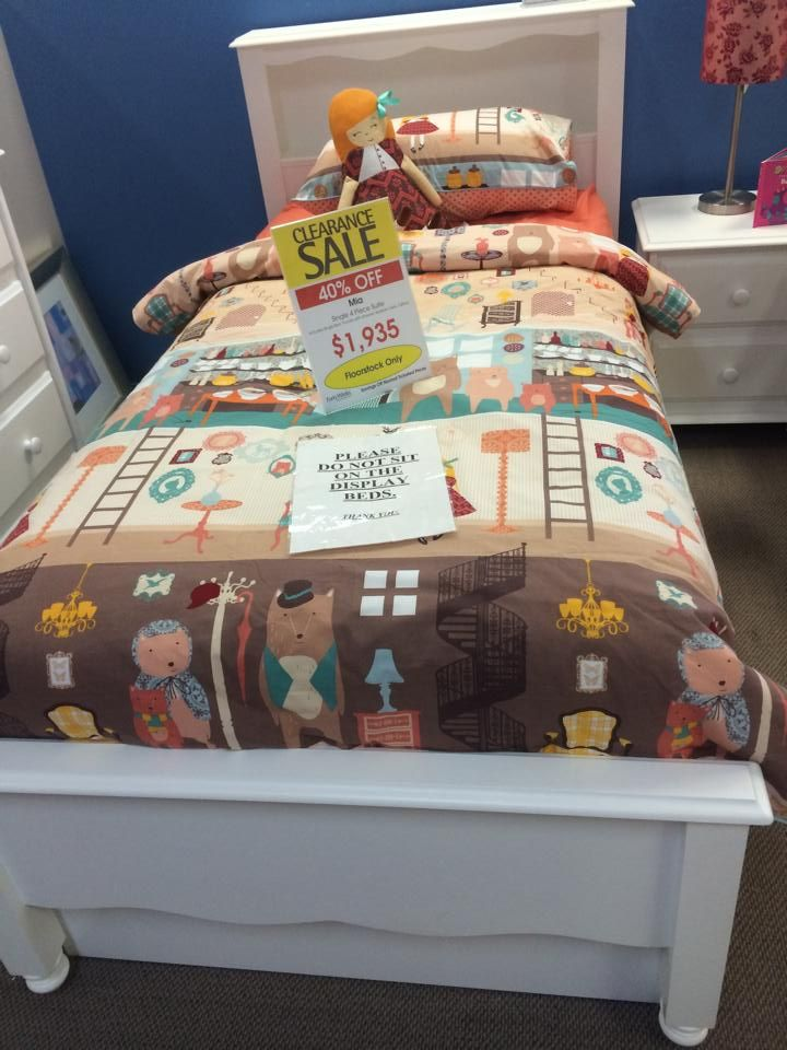 Single bed from Forty Winks