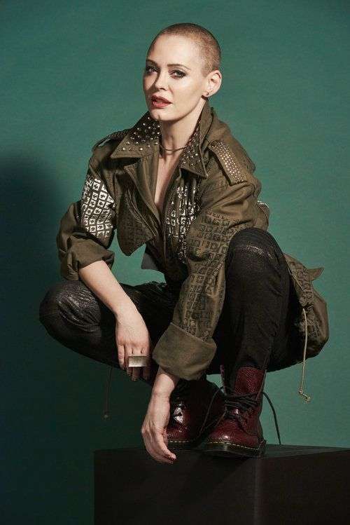 Rose McGowan by Jill Greenberg #hairdare #beauty #womensfashion