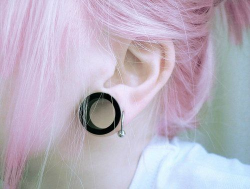 Dilatación y pelo rosa